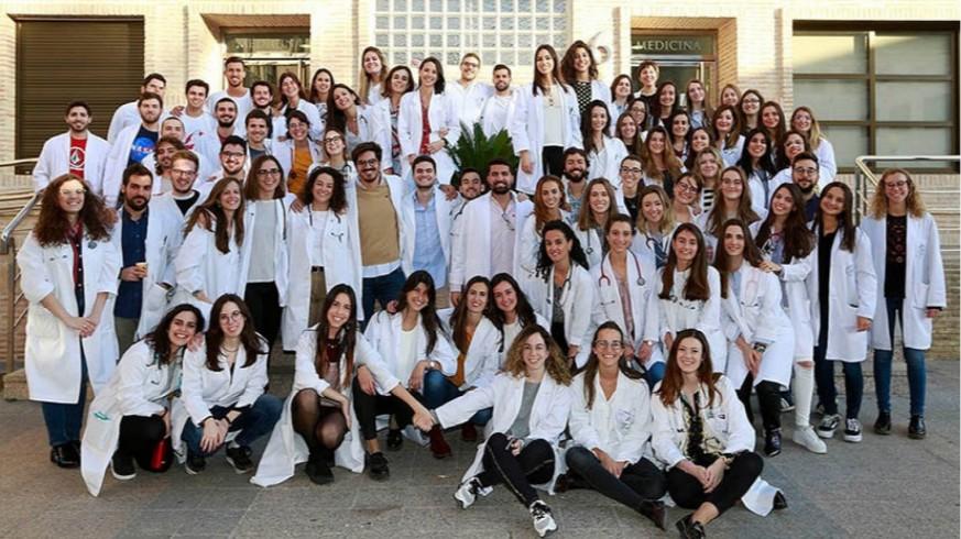 Alumnos de Medicina de la Universidad Católica