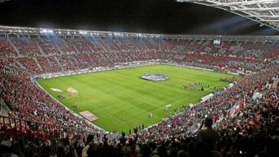 Estadio del Real Murcia. FOTO: ORM.