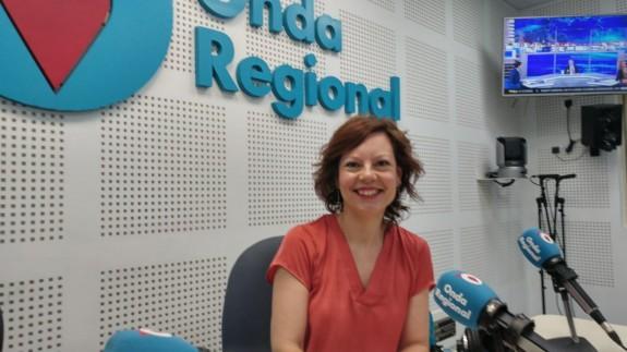 Sara Saéz en Onda Regional