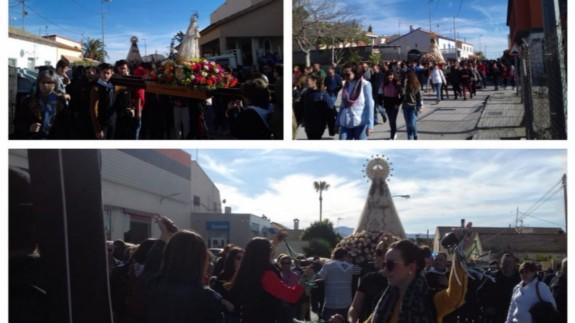 Imágenes de la Romería de La Hoya de este mismo año, que contamos en Onda Regional
