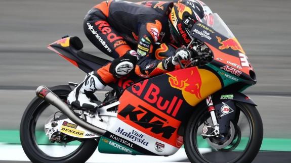 Pedro Acosta, en Silverstone. Foto: MotoGP