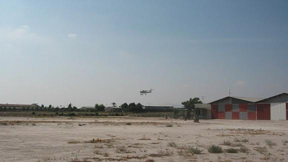 Imagen del aeródromo de Totana. Foto: totana.com