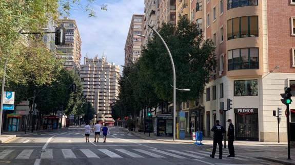 Paseos por la Gran Vía de Murcia