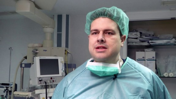 El cirujano Pedro Cascales