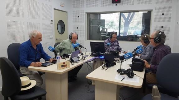 Juan Cano Conesa, Miguel Ángel Díaz y Alfonso Rodríguez