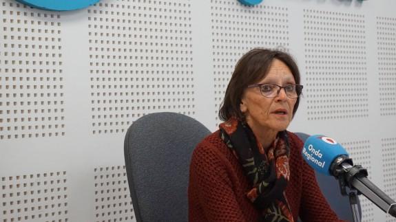Francisca Baraza, en nuestros estudios.