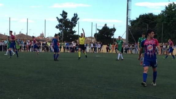 Empate sin goles en la ida de playoffs de ascenso entre Churra y Gimnástica Segoviana