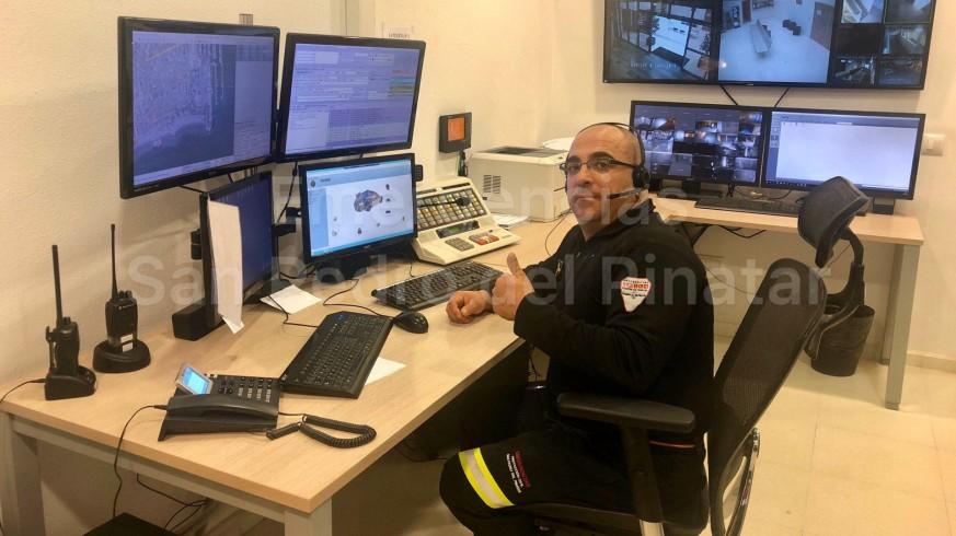 Trabajador del 1-1-2 en la Región de Murcia