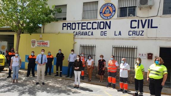 EL ROMPEOLAS. Caravaca agradece el trabajo de sus voluntarios contra el coronavirus