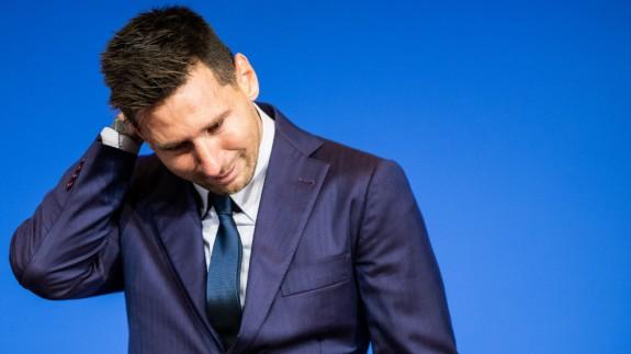 """Messi: """"Hice todo lo posible por seguir en el Barcelona, no se pudo por LaLiga"""""""