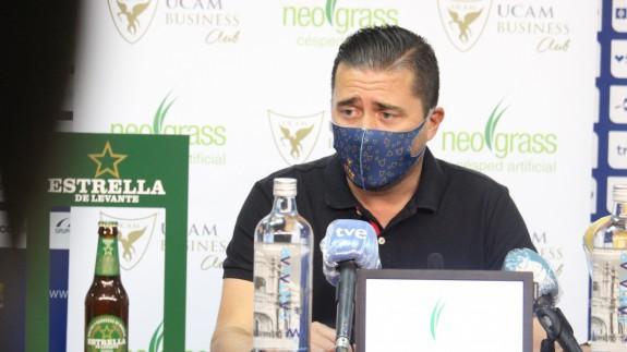 Pedro Reverte, director deportivo del UCAM CF
