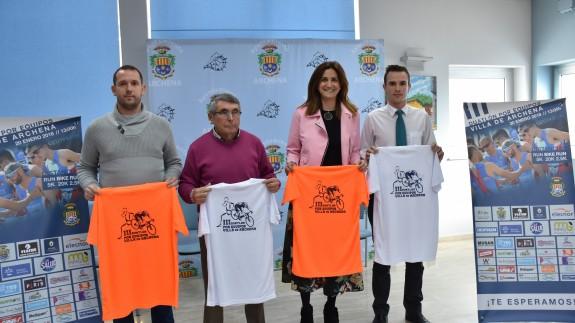 Presentado el III Campeonato de Duatlón Villa de Archena