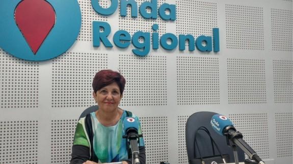 Carmen Robles en Onda Regional