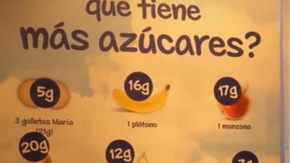 VIVA LA RADIO. Aprenda a comer de manera saludable. La publicidad engañosa de una papilla de cereales siembra la duda ¿Engorda la fruta?