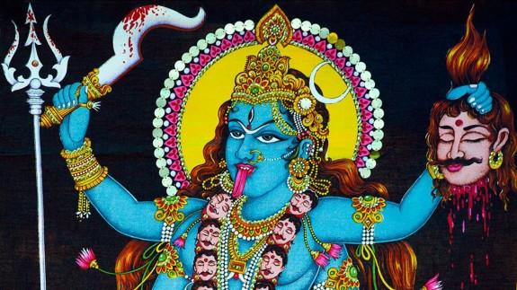 VIVA LA RADIO. Los Dioses deben estar locos. Kali, diosa hinduista de la destrucción. Madre universal consorte de Shiva