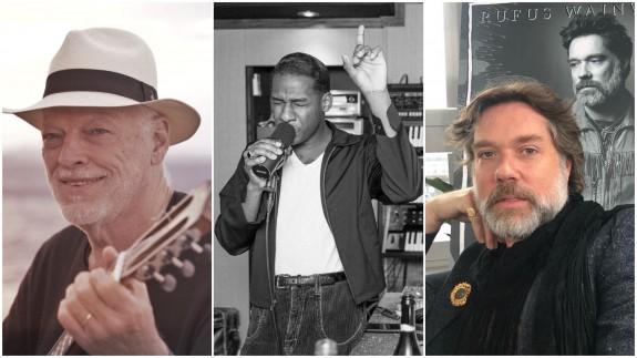 David Gilmour, Leon Bridges y Rufus Wainwright