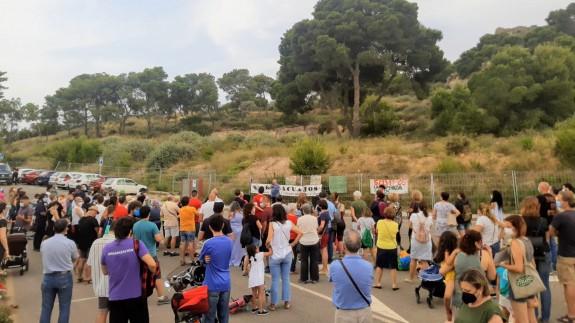 Protesta de los vecinos del Barrio de la Concepción de Cartagena. AAVV