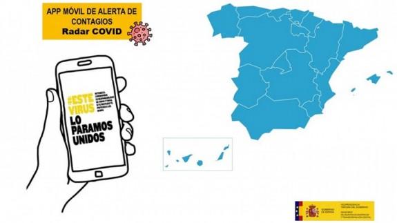 La aplicación móvil de alerta de contagios Radar COVID. MINISTERIO DE TRANSFORMACIÓN DIGITAL