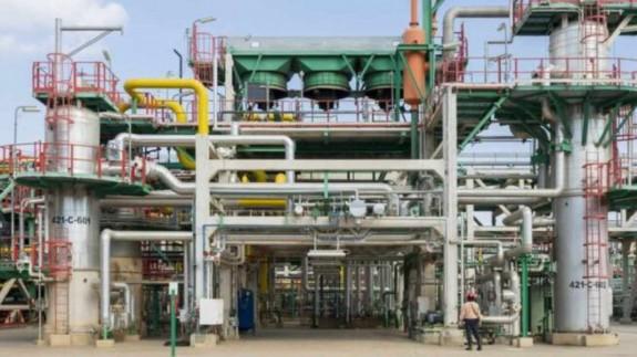 Refinería de Escombreras, en Cartagena. REPSOL