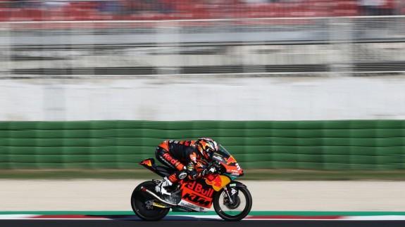Pedro Acosta, en el Gran Premio de San Marino