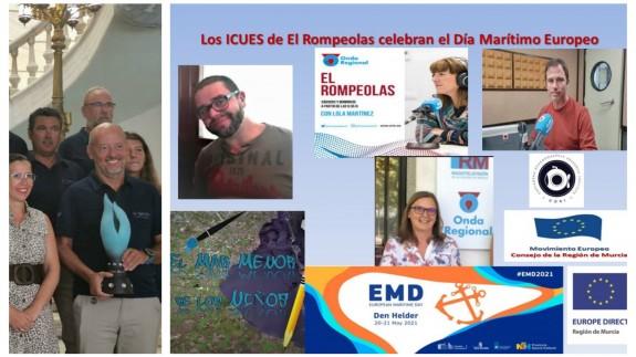 EL ROMPEOLAS. Especial Día Marítimo Europeo en 'Los ICUES de CORI' con Europe Direct