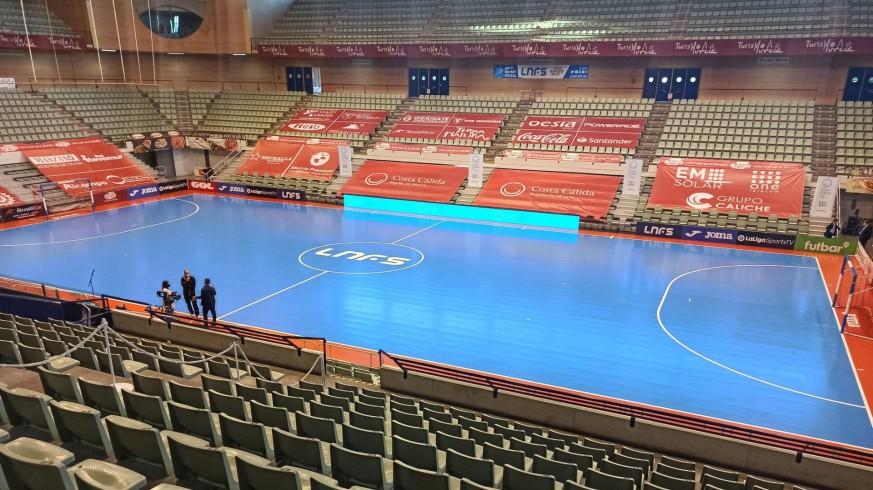 Palacio de los Deportes vacío