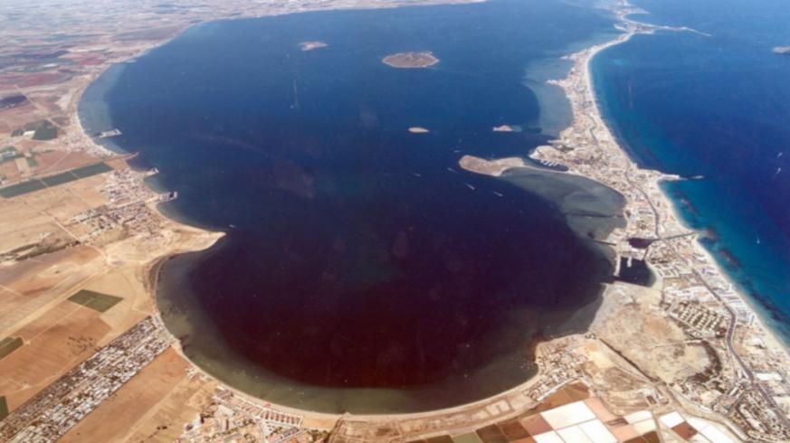 Vista aéra Mar Menor