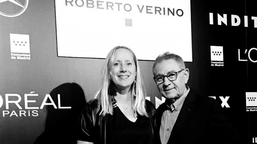 Katarzyna Rogowicz y Roberto Verino