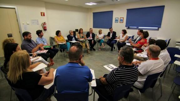 Reunión del PSRM-PSOE con sindicatos del Area de Salud VIII del Mar Menor