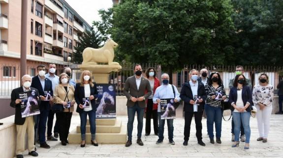 Representantes de los diferentes colectivos que participan en la Noche de los Museos de Lorca. AYUNTAMIENTO DE LORCA