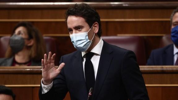 "Iglesias anuncia que denunciarán a García Egea ante la Fiscalía por ""comprar"" diputados"
