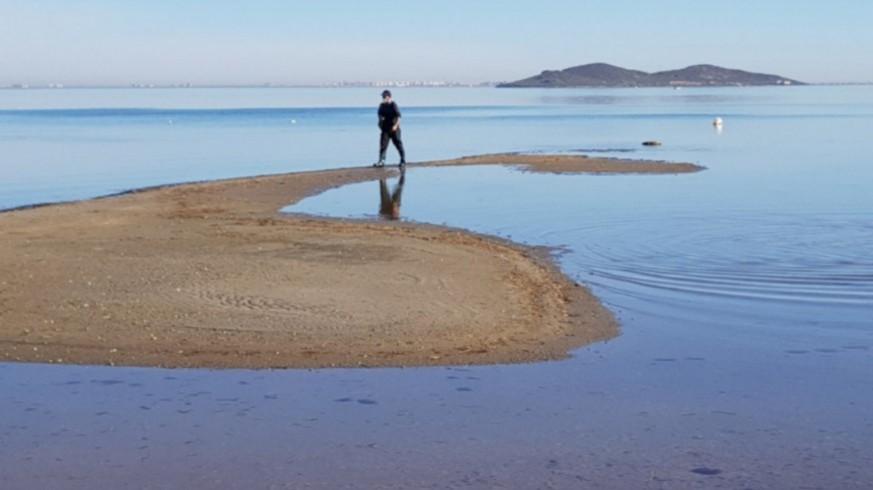 Los niveles de clorofila en el Mar Menor de han incrementado en los últimos días
