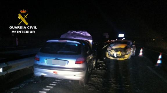 Accidente provocado por el conductor que circuló en sentido contrario