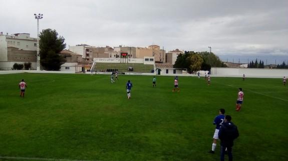 Empate entre Muleño y Lorca B 1-1
