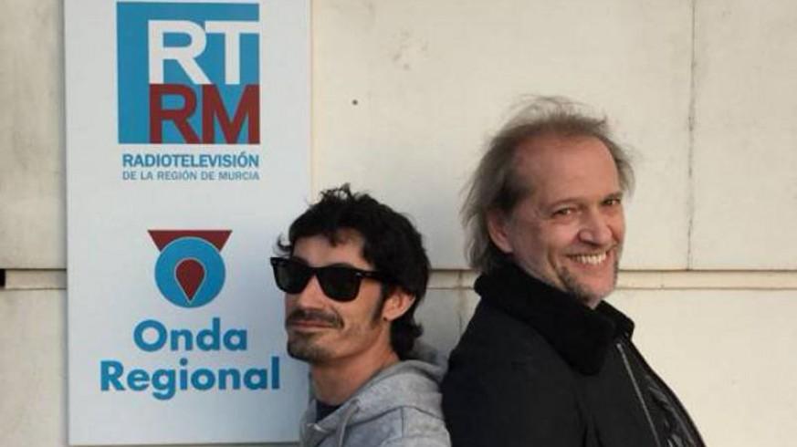 Fran Ropero y Román García en Onda Regional