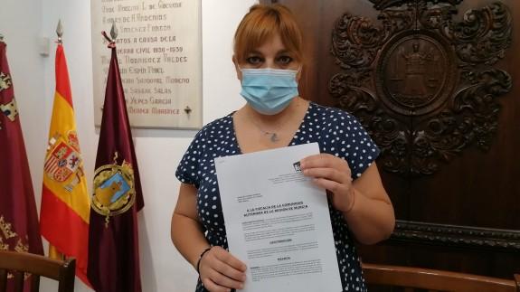 La concejal de IU- Verdes de Lorca denuncia las desigualdades entre áreas de salud