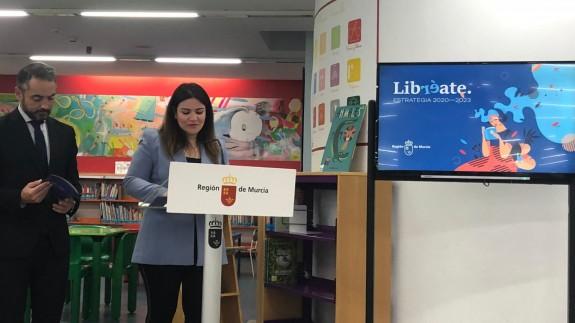 Esperanza Moreno en la presentación del programa 'Libreate'