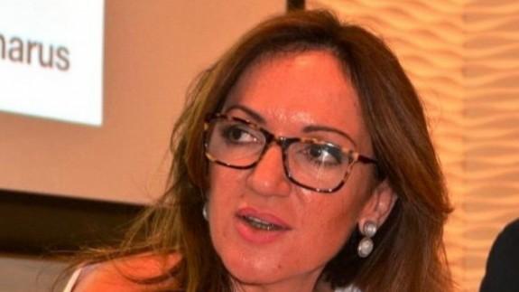Fuensanta Martinéz, periodista y responsable de comunicación del colegio de farmaceúticos.