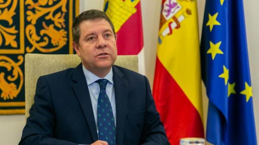 El presidente de Castilla-La Mancha, Emiliano García-Page (archivo). JCCM