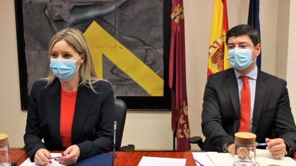 Ana Martínez Vidal y José Gabriel Sánchez Torregrosa