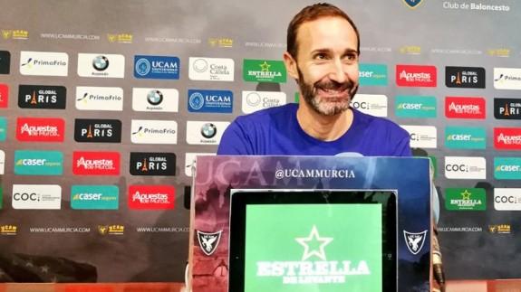 """Sito Alonso: """"Cada partido es vital, en el Palacio tenemos que hacernos fuertes"""""""