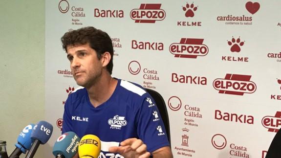 Duda ve a sus jugadores con más ilusión que el rival en la previa de la semifinal contra el Barça