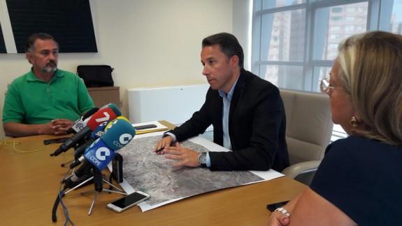 Fulgencio Gil, en rueda de prensa