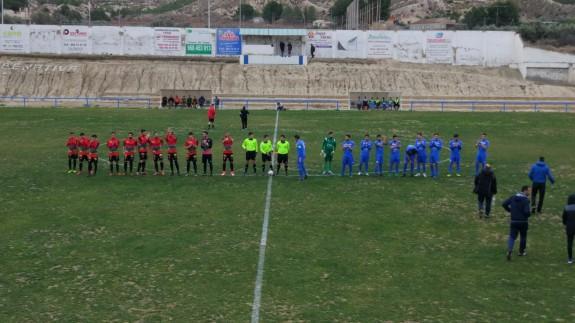 El Cieza golea 5-1 Bala Azul
