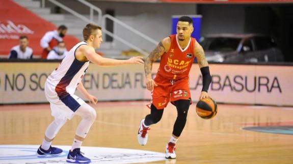 """Jordan Davies: """"Únicamente pensamos en ganar el partido de esta semana en Tenerife"""""""