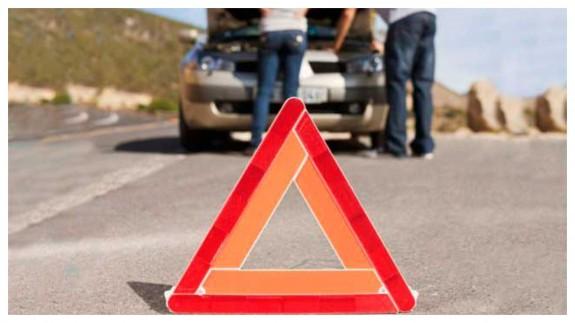 EL MIRADOR. En caso de avería o accidente en carretera: Señal V16, la baliza luminosa de peligro