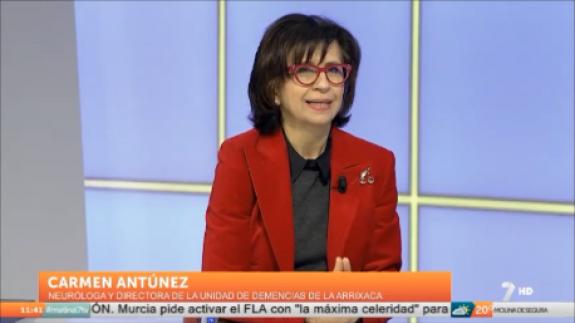 Carmen Antúnez en La7 Tv