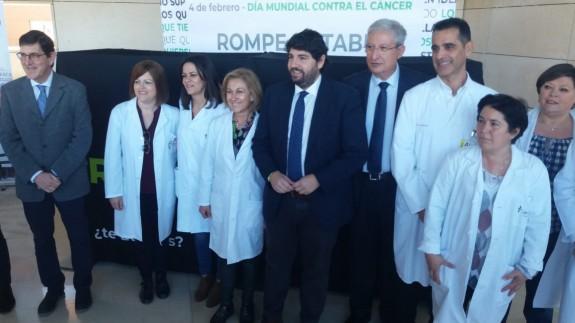 Inauguración del servicio de atención psicológica en la unidad del cáncer de mama