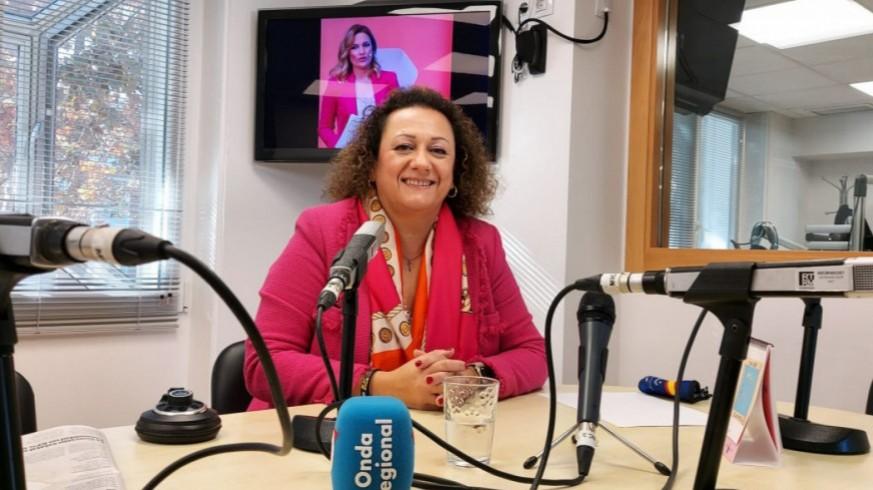 Yolanda Muñoz en una imagen de archivo de Onda Regional