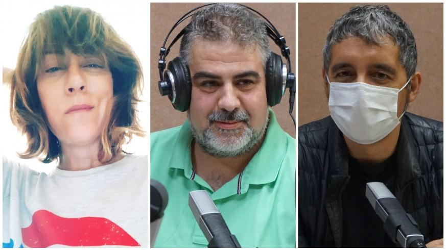Vega Cerezo, Laureano Buendía y Pedro Alberto Cruz